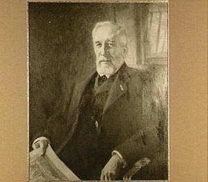 Portret van Mr. Simon van Gijn, 74 jaar oud