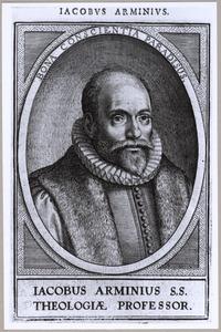 Portret van Jacobus Arminius (1560-1609)