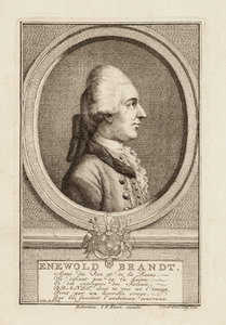 Portret van Enewold (von) Brandt ( -1772)