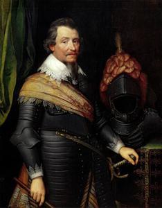 Portret van Ernst Casimir van Nassau -Dietz (1573-1632)