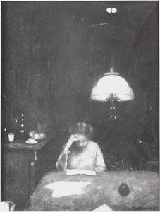 Portret van Anne Zernike (1887-1972)
