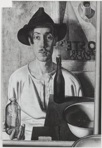 Zelfportret van Dirk Hendrik Ket (1902-1940)