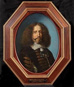 Portret van graaf Bernardino de Rebolledo (1597-1676)