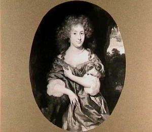 Portret van  Maria Piso (1650-1723)