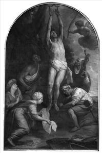 Het martyrium van de H. Blasius van Sebaste
