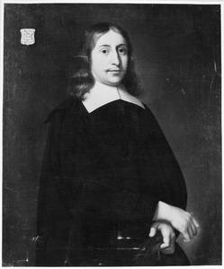 Portret van Gualtherus van Nellesteyn (1631-1698)