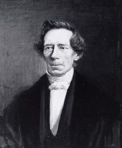 Portret van Johan Rudolf Thorbecke (1798-1872)