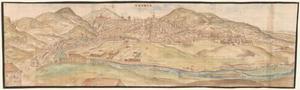 Panoramisch uitzicht op Cuenca