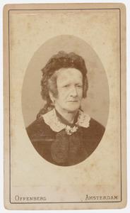Portret van Anna Maria Cornelia de Wijs (1813-1883)