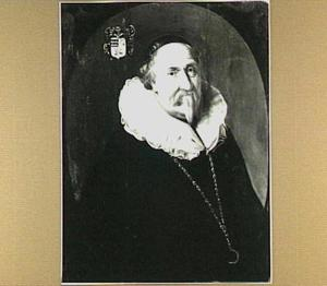 Portret van Jacob de Wijs (ca. 1569-1651)