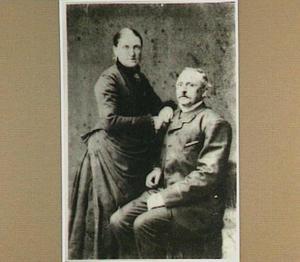 Portret van de schilder Anton Kerssemakers en zijn echtgenote