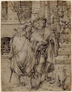 Het loskopen van een gevangene (een van de Werken van Barmhartigheid)