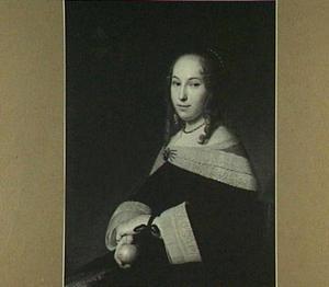 Portret van Margaretha Dicx (1634-1697)