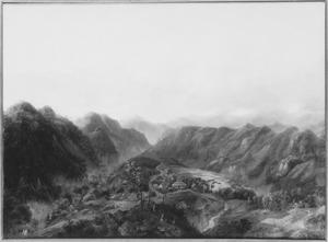 Gezicht op Soekapoera (Tengger)