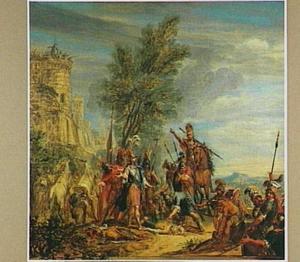 Achilles met het lichaam van Hector