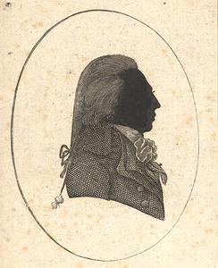 Portret van Johan Frederik Rudolph van Hooff (1755-1816)