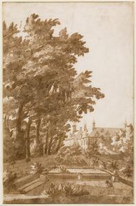 Tuin van het Huygenshuis, Den Haag