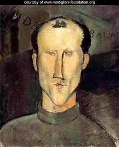 Portret van Leon Idnenbaum (1890-1981)
