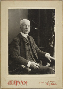 Portret van Adrianus van Aardenne (1841-1916)