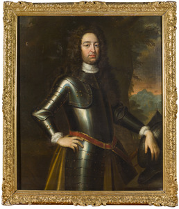 Portret van een man, genaamd Godard van Reede (1644-1703)
