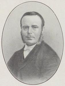 Portret van Hendrik de Cock (1801-1842)