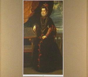 Portret van Isabella van Valois, koningin van Spanje (1545-1568)