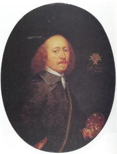 Zelfportret van Wolfgang Heimbach (ca. 1613/16-ca. 1678)