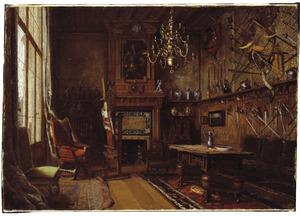 Het atelier in de villa van het echtpaar Willet-Holthuysen te Le Vésinet