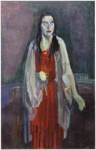 Portret van Charlotte Köhler (studie)