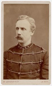 Portret van Adolf Warner van der Wyck (1842-1927)