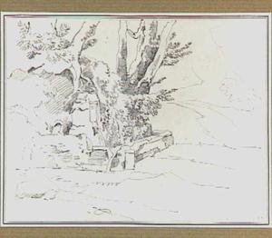 Landschap met bron in de omgeving van Ariccia