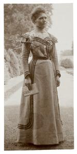 Portret van Blanche Christmann (...-...)