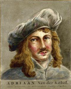 Portret van Adriaan van der Kabel (1631-1705)