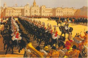 London by LMS: Trooping the Colour, Whitehall