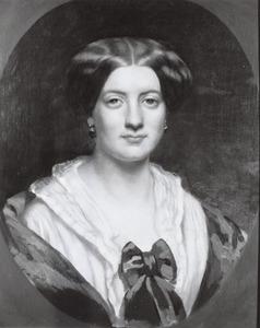 Portret van Caroline Hermine Henriette Jacqueline van Heeckeren (1825-1887)