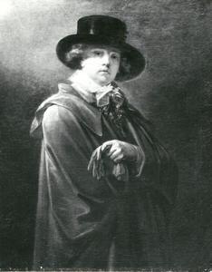Zelfportret van Heinrich Friedrich Füger (1751-1818) als jongeman