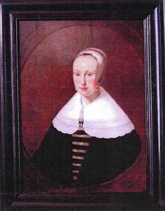 Portret van een vrouw, mogelijk de echtgenote van Jacob Symonsz. Verhoef