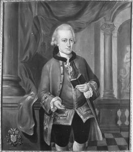 Portret van Juliaan van Groenewegen (1739-1773), echtgenoot van Anna Elisabeth Chasteleyn