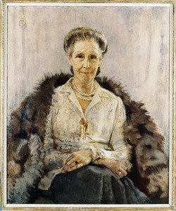 Portret van Maria Elisabeth Margaretha de Girard de Mielet van Coehoorn (1880-1974)