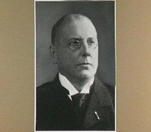 Portret van de architect J. Jurriaan Kok
