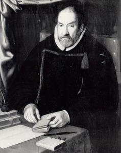 Portret van Cornelis Jacobsz. van der Goude (1542-1615), devoorlaatste commandant van de Ridders van St. Jan in Haarlem