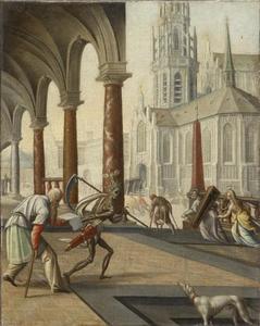 Allegorie op de dood (fragment)