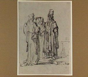 De engel bij Manoach en zijn vrouw (Richteren 13:11)