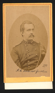 Portret van A.K. van der Garden