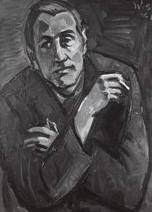 Portret van Sybren Minnema (1924- )