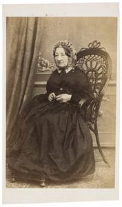 Portret van Maria Wilhelmina van Delen (1793-1871)