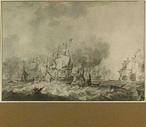 Zeeslag tussen de Fransen en de Portugezen in 1771