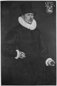 Portret van Aernout Cobbault (?-1635), echtgenoot van Anna van Valckenburgh