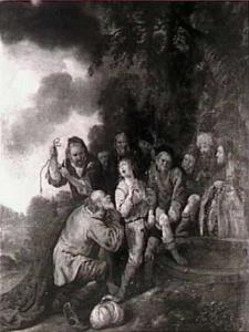 Jozef door zijn broeders in de put neergelaten (Genesis 37:23-24)