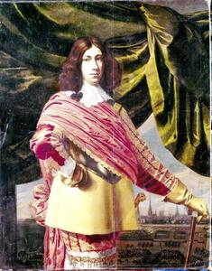 Portret van Ulrik Christian Gyldenløve (1630-1658), zoon van Koning Christiaan IV van Denemarken
